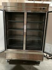 Elite Commercial Upright Reach In Freezer In Steel 407 Cu Ft