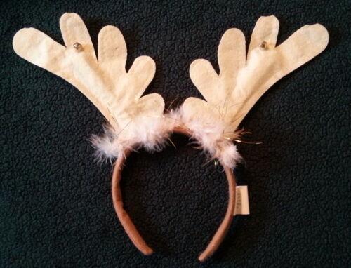 Reindeer Antlers Christmas Headdress Deer Prop Halloween Dance Ballet One Size