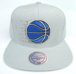 ORLANDO-MAGIC-NBA-MITCHELL-amp-NESS-GRAY-VINTAGE-RETRO-SNAPBACK-CAP-HAT-NEW