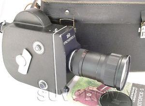 KRASNOGORSK-3-16mm-Movie-Camera-ALMOST-FULL-SET-Meteor-5-1-17-69mm-f1-9-M42-lens