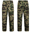 Mens-Fleece-Lined-Cargo-Trousers-Elasticated-Combat-Work-Pants-Army-Bottoms thumbnail 3