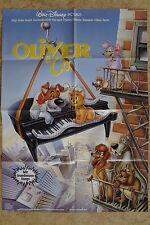 (P170) KINOPLAKAT Oliver & Co. (1988) Oliver & Company