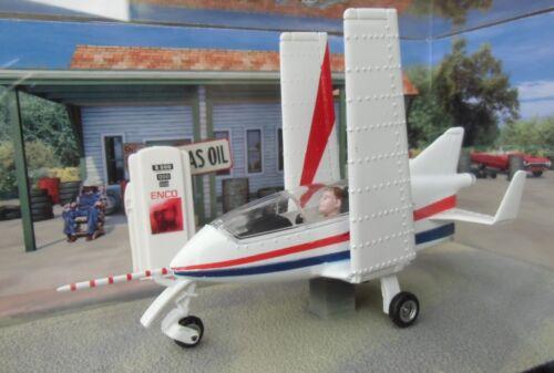 "007 JAMES BOND Acrostar Mini Jet Bede BD-5J /""Octopussy/"" 1:43 BOXED PLANE MODEL"