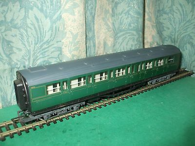 Contemplativo Hornby Sr Maunsell Green Composite Coach Only - Unboxed Buona Conservazione Del Calore