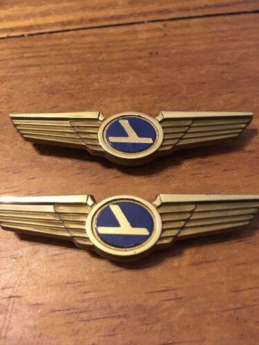 Kiddie Wings Plastic Pin Legacy Eastern Airlines New Set Of 2 Aviation Vintage