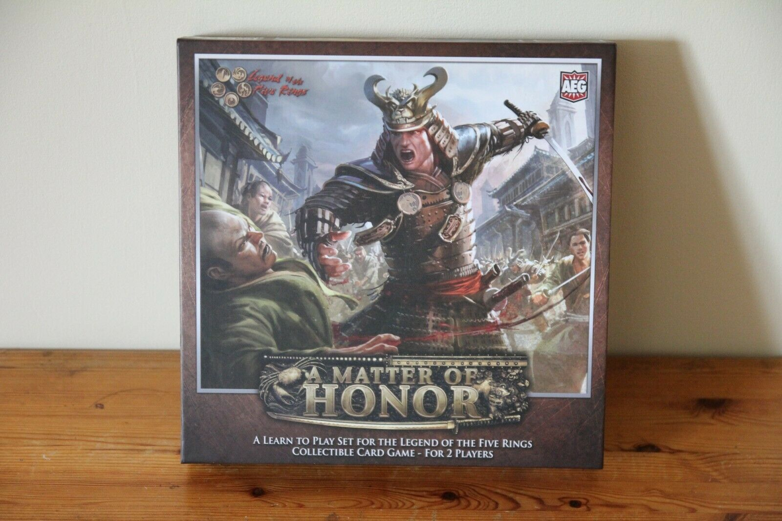 A Matter of Honor - L5R- Alderac Entertainment Group - Battle of 5 rings