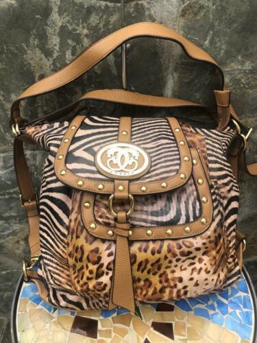 SHARIF ANIMAL PRINT SHOULDER BAG MESSENGER  [i150