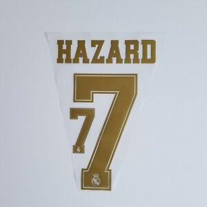 Real-Madrid-2019-2020-Eden-Hazard-Shirt-Jersey-Shirt-Name-Number-7-Set-Gold