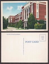 Old North Carolina Postcard - Hickory High School