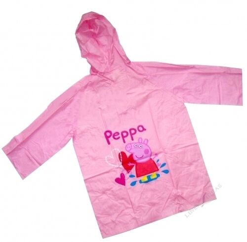 Disney Mickey Minnie mouse Cars Princess Peppa Pig Rain Raincoat Brand New Gift