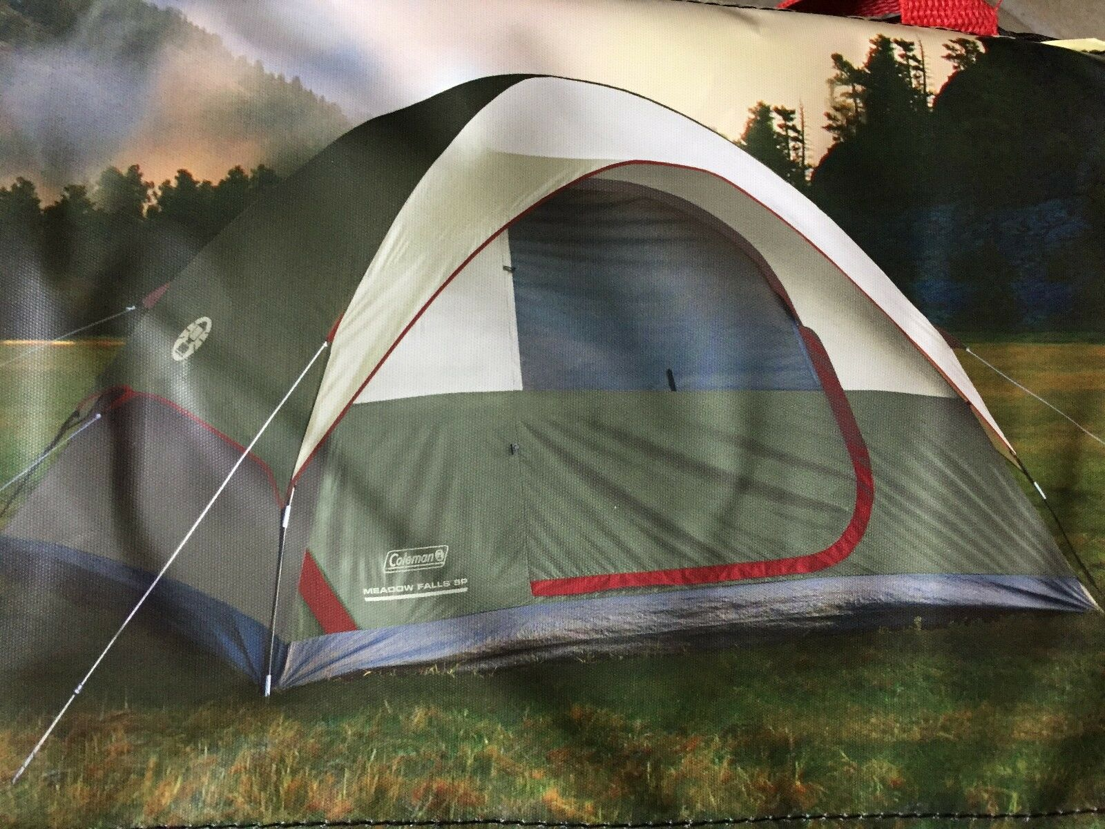 Coleman Meadow Falls 5 Person Dome Tent NEW