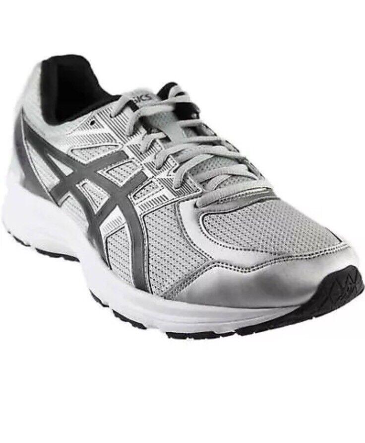 ASICS Mens T7K4N.9790 Jolt Running Shoes GlacierGrey/Black/Carbon Size10,10.5,12