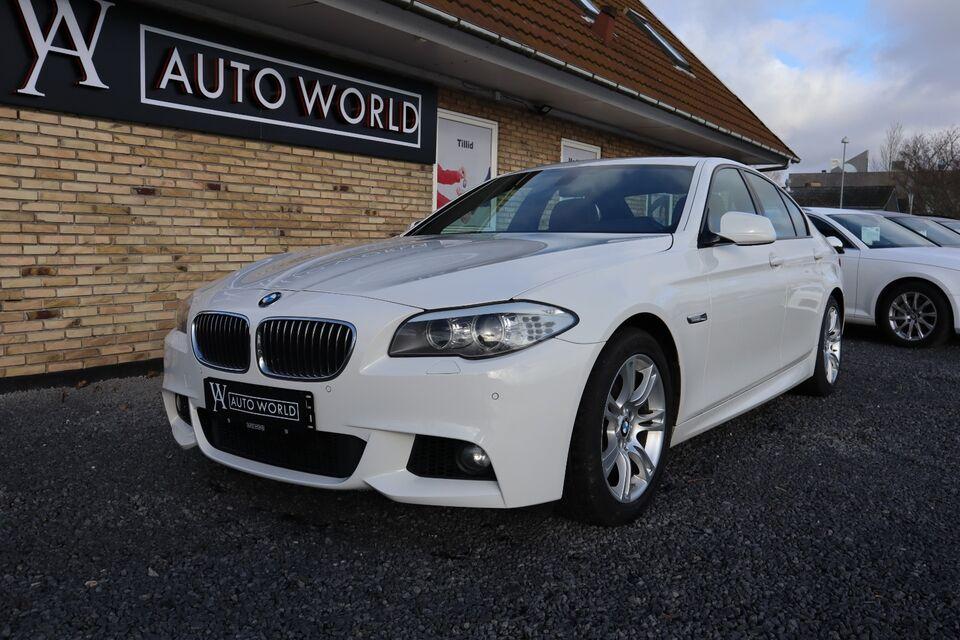 BMW 520d 2,0 M-Tech aut. Diesel aut. Automatgear modelår