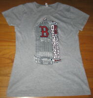 Majestic Boston Red Sox Baseball Gray M T Shirt Top