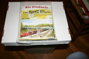 HO-RIX-PRODUCTS-123-WROUGHT-IRON-HIGHWAY-OVERPASS-KIT-NEW
