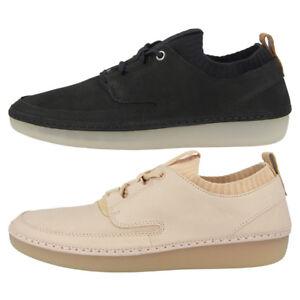 sports shoes cc8ff d2590 Details zu Clarks Nature IV Schuhe Damen Schnürschuh Leder Halbschuhe  Freizeit Sneaker 261