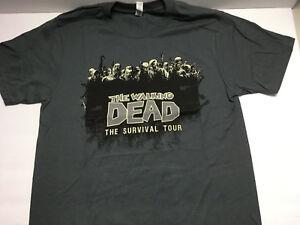 Walking-Dead-Survival-Tour-Size-S-Small-Kirkman-Skybound-T-Shirt