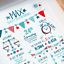 Personalised-Birth-Print-for-Baby-Boy-Girl-New-Baby-Gift-or-Christening-Present thumbnail 51