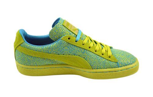 358017 Classic Sulphur Wn's Lines Suede sneaker blue Puma 02 Schuhe Atoll Spring 5SqRvw7