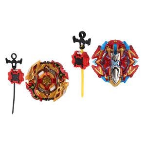2xTop-Burst-Ripcord-Launcher-Spielzeug-Buster-Xcalibur-1-039-Sw-B-120-B-128