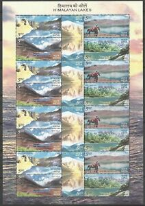 2006-Complete-Sheet-of-Himalayan-Lakes-Se-tenants-Stamps
