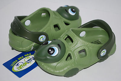 NEW POLLIWALKS NAVY BLUE ALLIGATOR GATOR shoe clogs 3D sandal 7 8 9 10 11 12 kid