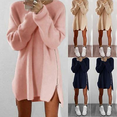 Fashion Women Long Sleeve Sweater Jumper Tops Loose Blouse Shirt Pullover