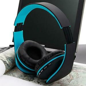 Wireless Headphones Bluetooth Foldable Headset With Mic For Pc Mobile Phone Tv Ebay