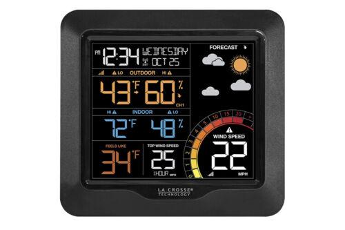 La Crosse Professional Colour Wind Speed Weather Station 327-1417V2