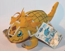 "2000 Banpresto Digimon Armadillomon 9"" Inch Plush w/ Tag Japanese Japan"