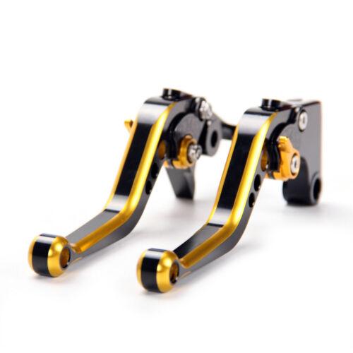 Short Edging Brake Clutch Levers For Honda CBR600RR 2003-2006//CBR954RR 02-03