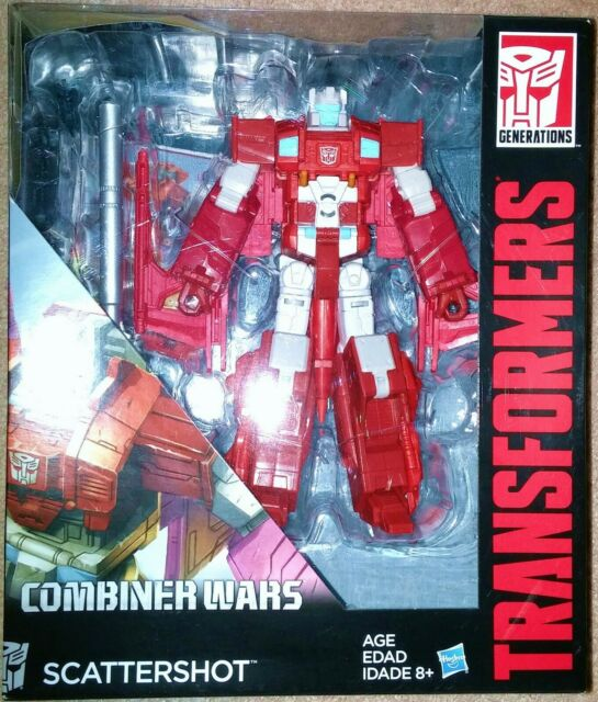 Transformers Combiner Wars CW Voyager Class Technobot Scattershot MISB