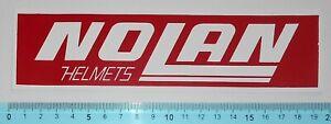 ADESIVO-STICKER-VINTAGE-AUTOCOLLANT-MOTO-TUNING-NOLAN-HELMETS-ANNI-039-80-19x5-cm
