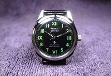 HMT Jawan, black dial, vintage looking watch