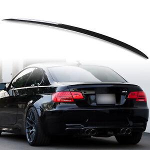 BMW-E92-pintado-de-negro-brillante-E92-Coupe-2D-ABS-Arranque-Labio-Spoiler-M3-estilo-OME-Fit