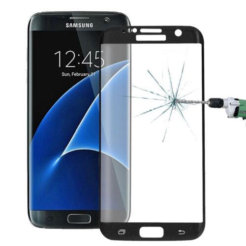 Tempered Glas für Samsung S6 Edge S7 Schutzfolie Panzer 4D 3D vollflächig CURVED