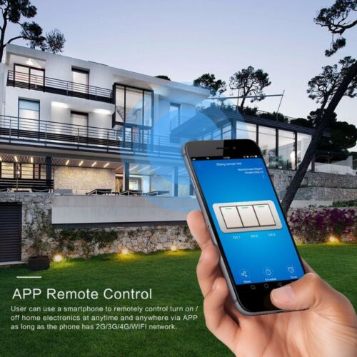 RF Touch Remote For Alexa Wifi RF Touch Switch Wall Light Ewelink APP Control