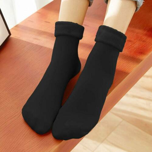 Wool Cashmere Comfortable Womens Thicken Thermal Soft Casual Solid Winter Socks
