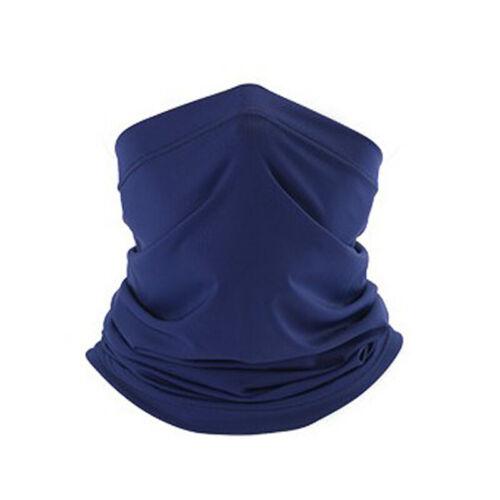 Cooling Neck Gaiter UV Protection Face Cover Windproof Scarf Bandana Balaclava