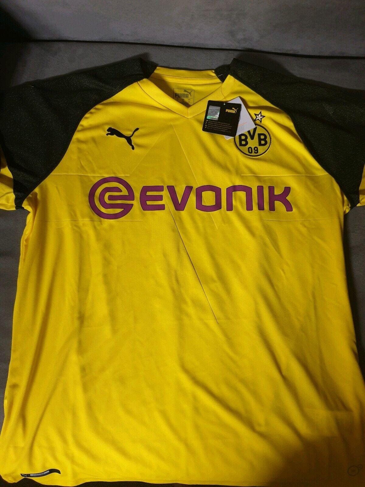 Borussia Dortmund Home Trikot BVB 2018 19 Gr. XL