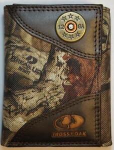 ZEP-PRO SHOTGUN SHELL REALTREE MAX-5 Trifold Camo Wallet Tin Gift Box