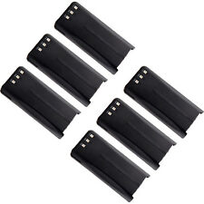 6X 2000mAh Li-Ion KNB-45 Battery for KENWOOD TK-2207 TK-3207 TK-2312 TK-3312