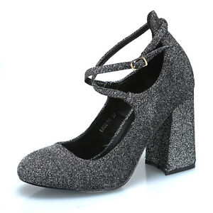 MFORSHOP-scarpe-donna-decolte-decollete-glitter-cinturino-caviglia-moda-LBS6109