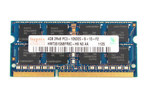 For Hynix 8GB 2RX8 PC3-10600S DDR3 1333MHz 204pin Sodimm Laptop Memory RAM Intel