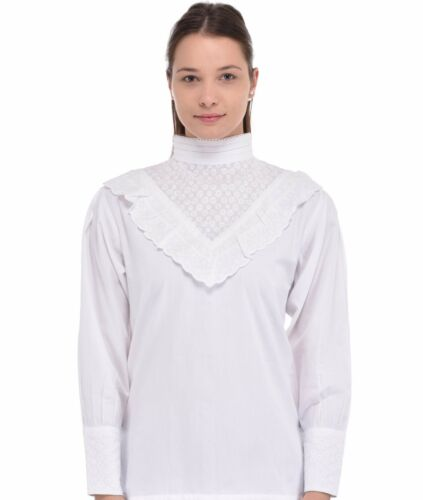 Broderie Anglaise White Broderie Blouse Anglaise White Broderie White Anglaise Blouse qF0wIS