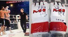 Jeff Monson Signed M-1 Global MMA Fight Worn Used Gloves BAS COA UFC Autograph