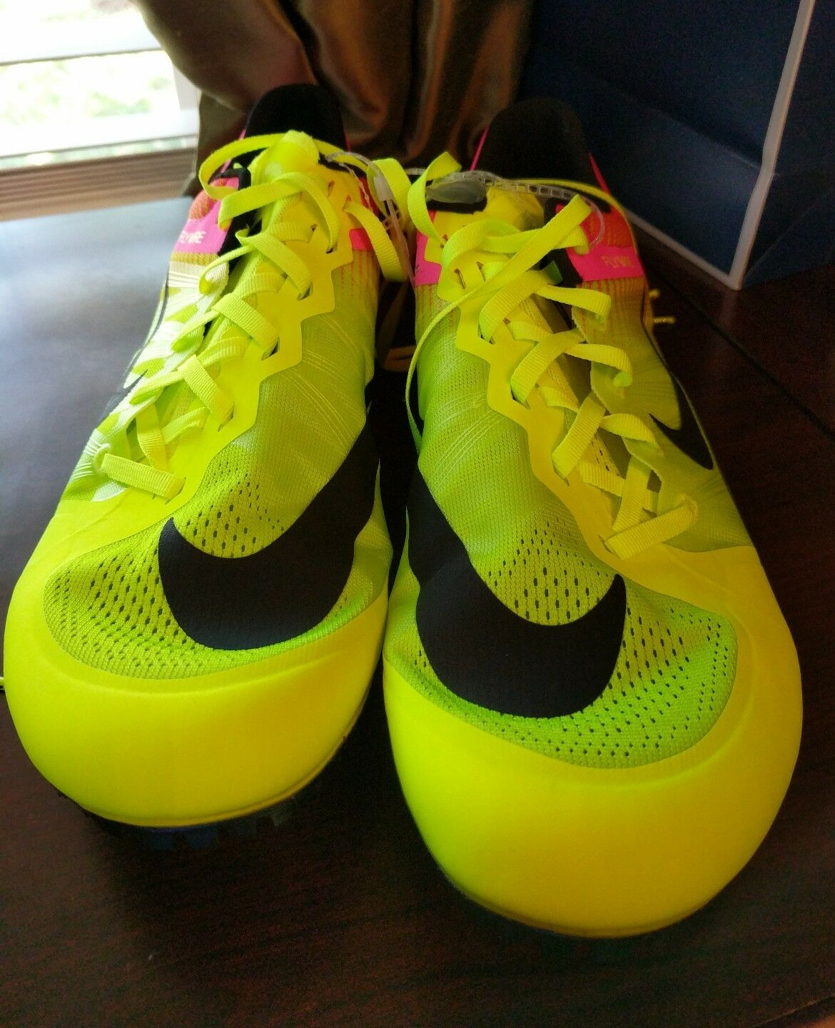 Nike Zoom Ja Fly 2 Track Track Track Spikes Rio Volt  Pink Size 12 Unisex (705373-999) 82cc27