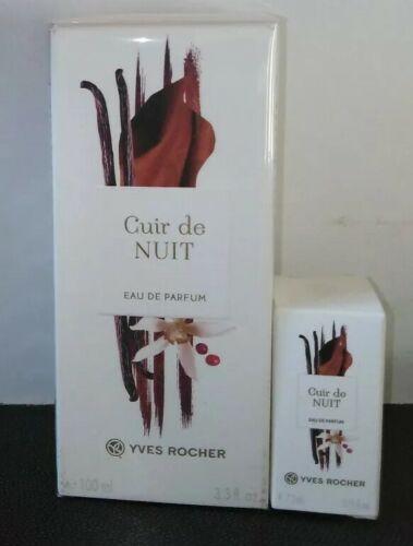 Yves Rocher - Eau de Parfum CUIR DE NUIT vapo 100ml ss blister & mini flacon 5ml