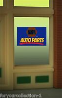 Miller's Napa Auto Parts Animated Neon Window Sign 8895 O/o27 Ho Scale