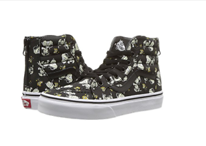 454db7047a3108 NEW Vans Kids Sk8-Hi Zip x Peanuts Snoppy Mummies Glow in the Dark ...
